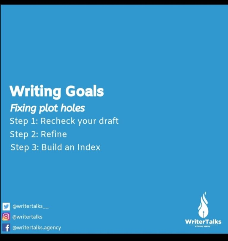 Read more about the article Writing Goals