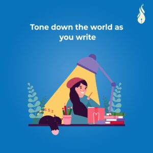 Read more about the article Tone Down the World as you Write